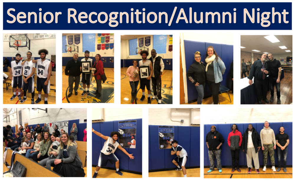 Senior Recognition/Alumni Night