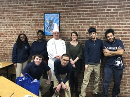Niagara Falls Culinary Institute Chef inspires students after visit at Falk School
