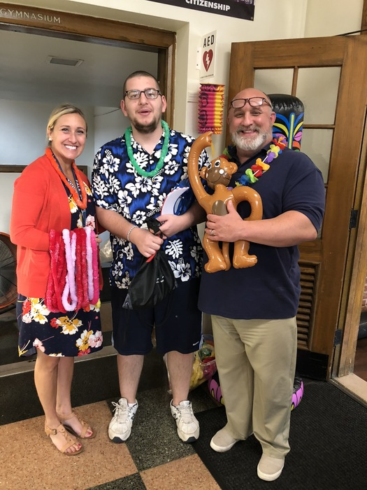 Hawaiian day at Cambridge