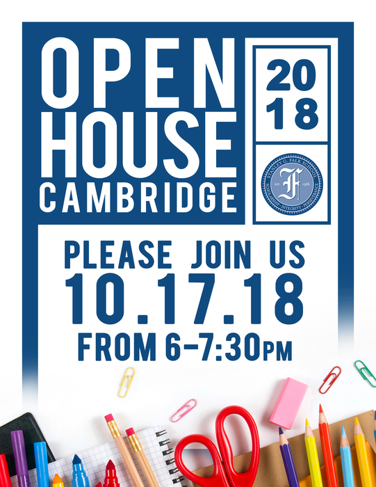 Open House Tonight