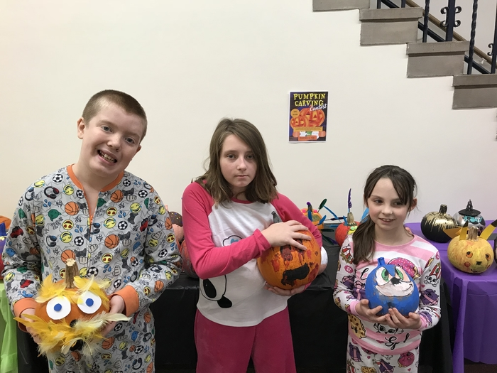 Pumpkin contest winners
