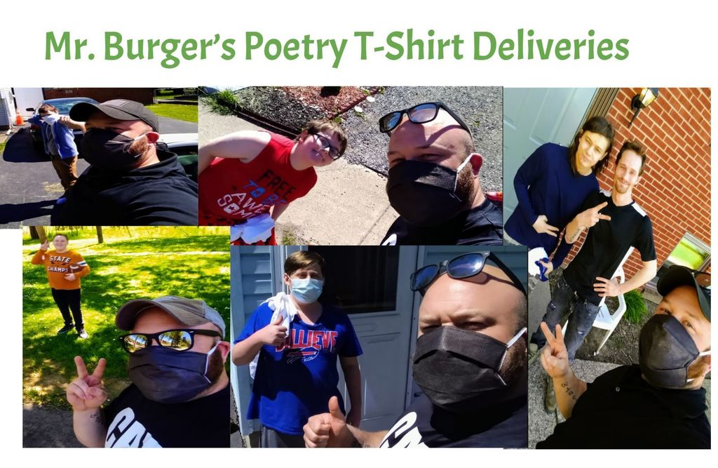 Burger t-shirt visits