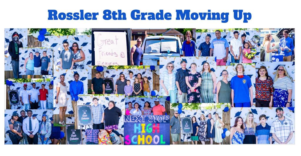 Rossler 8th Grade moving up
